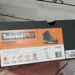 Timberland Pro Stockdale Safety Boots NWT